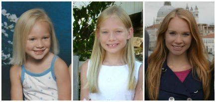 My hair evolution. Yes, I deliberately skipped over the awkward middle school years.