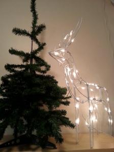 Melvin the Drunk Christmas Tree and Giorgio the Pilfered Christmas Reindeer