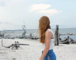 Driftwood Beach, Georgia