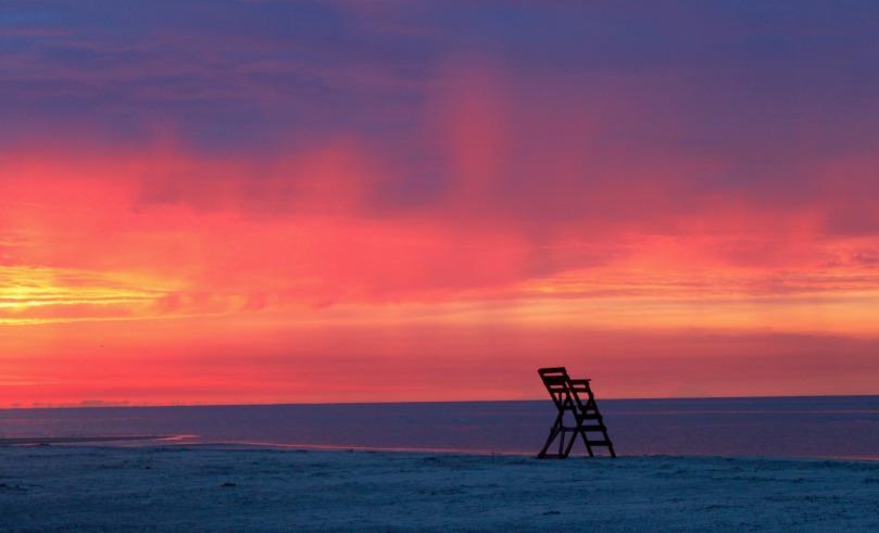 St. Simon's Island, Georgia, beach at sunrise