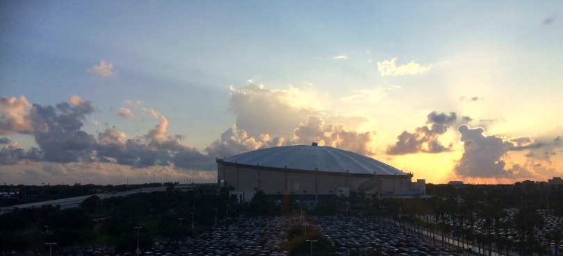 Tropicana Field, St. Petersburg, Florida